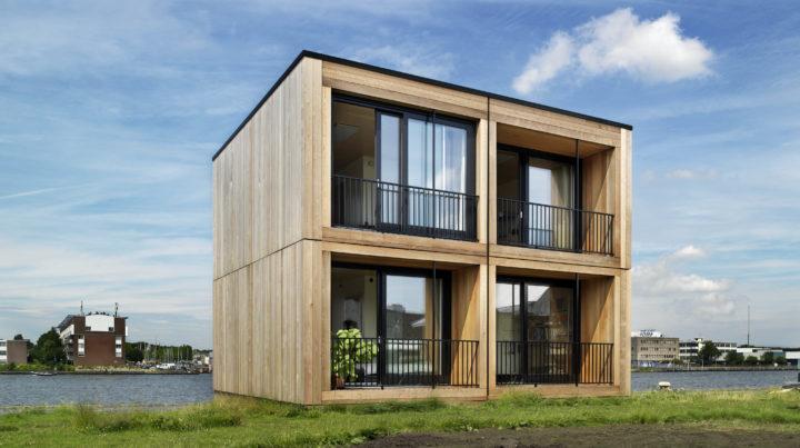 Tiny house appartementen van Finch Buildings in Amsterdam
