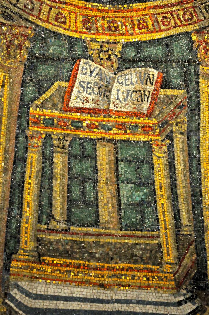 Mozaïek in Ravenna, Italië