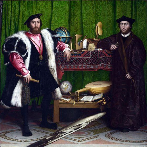 The Ambassadors - Hans Holbein de Jonge