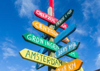 Afstanden tot Nederlandse steden