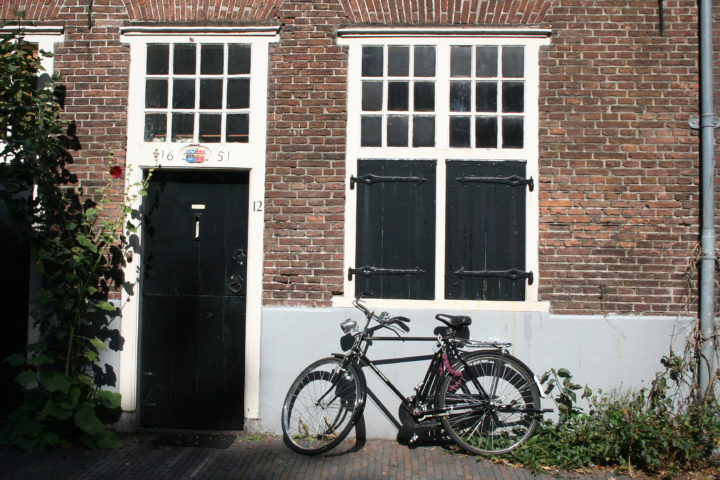 Voordeur uit de 17e eeuw