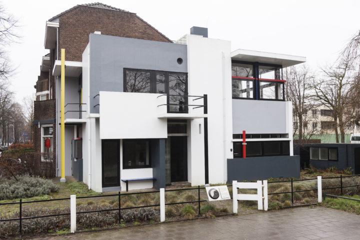 Het Rietveld-Schröderhuis in Utrecht