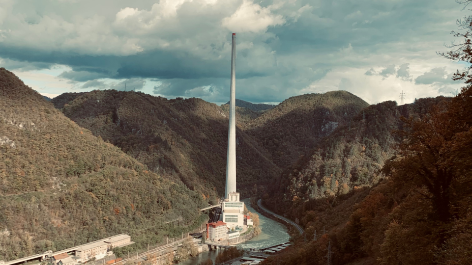 De hoogste schoorsteen van Europa